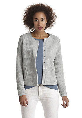 - Gesteppte Jacke aus reiner Bio-Baumwolle