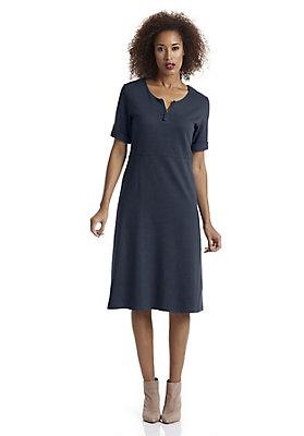 - Hanfjersey-Kleid mit Bio-Baumwolle