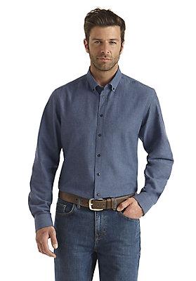 - Hemd Fischgrat Modern Fit aus reiner Bio-Baumwolle