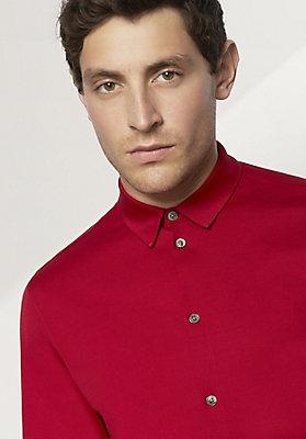 - Hemd aus reiner Bio-Baumwolle
