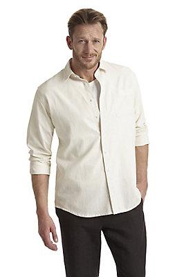 - Hemd comfort fit aus Hanf mit Bio-Baumwolle