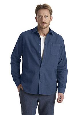 neu-herren-bekleidung - Hemd comfort fit aus Hanf mit Bio-Baumwolle