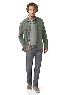 - Hemdjacke aus Hanf mit Bio-Baumwolle