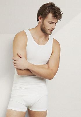 - Herren Achselshirt aus Bio-Baumwolle und Modal