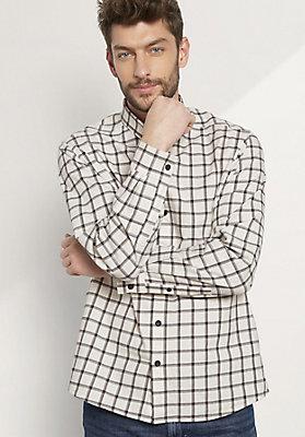 - Herren Hemd Comfort Fit aus reiner Bio-Baumwolle