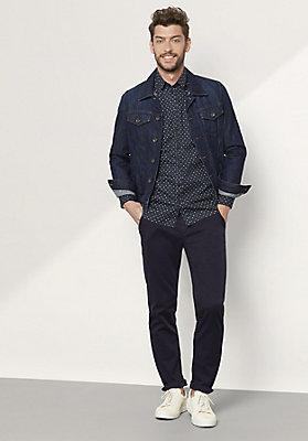 - Herren Hemd Modern Fit aus Bio-Baumwolle