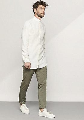 - Herren Hemd Modern Fit aus reinem Leinen