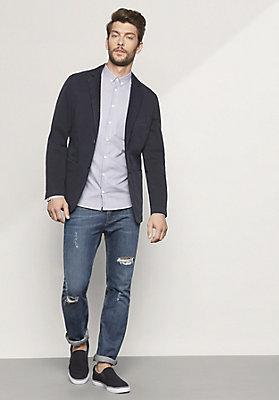 - Herren Hemd Modern Fit aus reiner Bio-Baumwolle