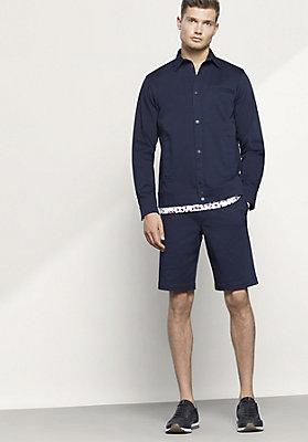 - Herren Hemdjacke aus Bio-Baumwolle