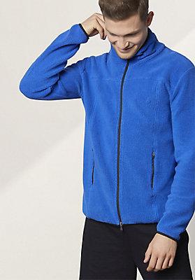 - Herren Jacke aus reinem Bio-Baumwoll-Fleece