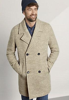 - Herren Jacke aus reiner Schurwolle vom Rhönschaf