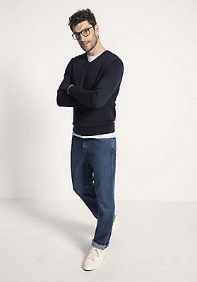 - Herren Jeans Comfort Fit aus reinem Bio-Denim