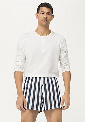 - Herren Jersey-Boxershorts aus reiner Bio-Baumwolle