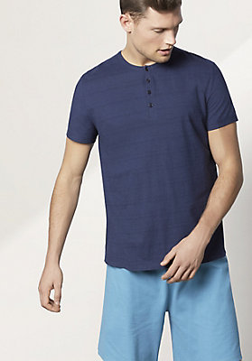 - Herren Kurzer Pyjama aus reiner Bio-Baumwolle
