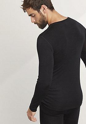 - Herren Langarm-Shirt PureWOOL aus reiner Bio-Merinowolle