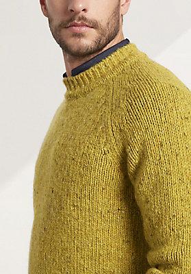 - Herren Pullover aus reiner Merinowolle