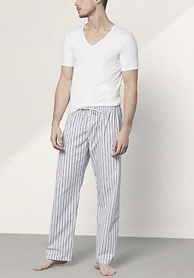 - Herren Pyjamahose aus reiner Bio-Baumwolle