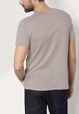 - Herren Shirt aus Bio-Baumwolle mit Schurwolle