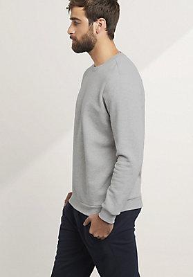 - Herren Sweatshirt aus reiner Bio-Baumwolle