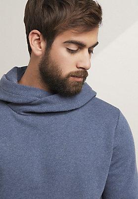 - Hoody aus Bio-Baumwolle mit Kaschmir