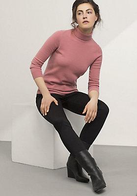 - Hose Slim Fit aus reiner Bio-Baumwolle