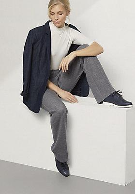 - Hose aus Bio-Baumwolle und Schurwolle