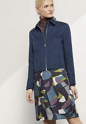 - Jacke aus Bio-Baumwolle