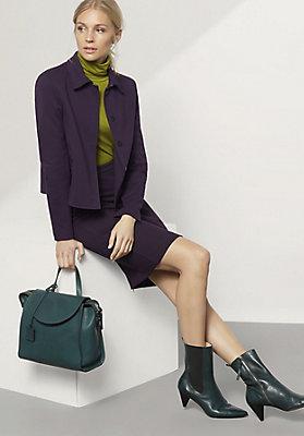 - Jacke aus Bio-Baumwolle mit Modal