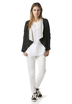 - Jacke aus Bio-Baumwolle und Bio-Merinowolle