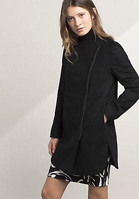 - Jacke aus Schurwolle mit Kaschmir