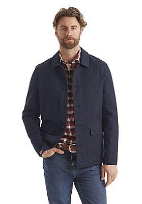 - Jacke aus reiner Bio-Baumwolle