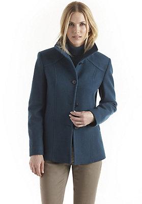 kw37-damenbekleidung-jacken-maentel - Jacke aus reiner Schurwolle