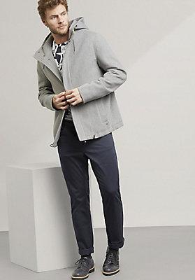 - Jacke aus reiner Schurwolle