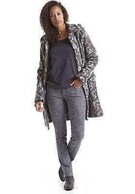 damen-neuheiten-herbst-kollektion-2014 - Jeans Rosenmuster aus Bio-Baumwolle