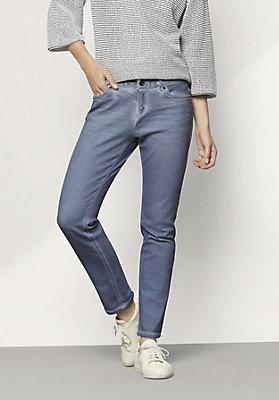 - Jeans Slim Fit Coloured Denim aus Bio-Denim