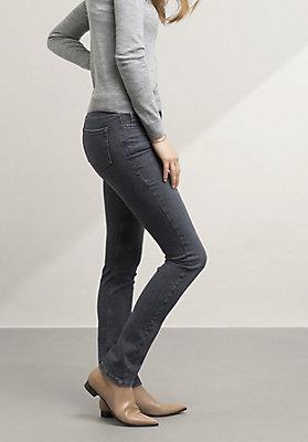 - Jeans Straight Fit aus Bio-Baumwolle