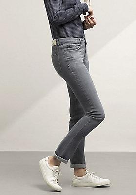 - Jeans Straight Fit aus Bio-Denim