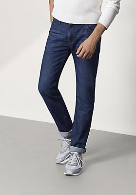 - Jeans Straight Fit aus reinem Bio-Denim