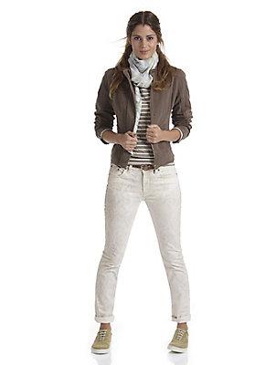 "- Jeans Straight fit ""Pastel Graphic"" aus Bio-Denim"