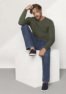 - Jeans comfort fit aus reiner Bio-Baumwolle