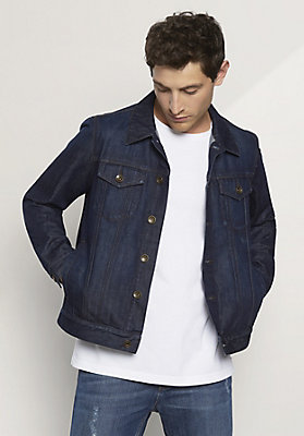 - Jeansjacke aus reinem Bio-Denim