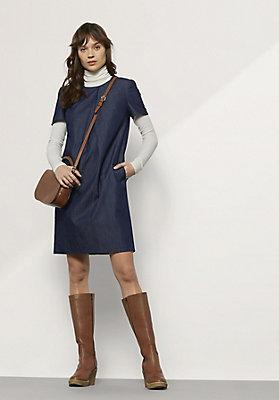 - Jeanskleid aus reiner Bio-Baumwolle