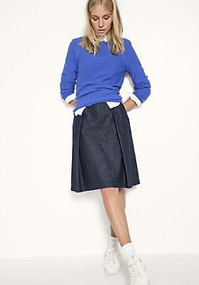 - Jeansrock aus reiner Bio-Baumwolle