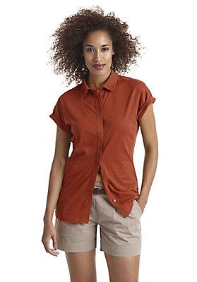- Jersey-Bluse aus reiner Bio-Baumwolle