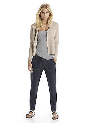 - Jersey-Hose aus reiner Bio-Baumwolle