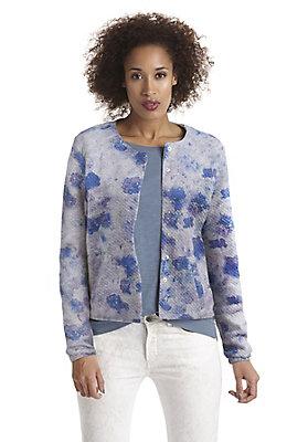 - Jersey-Jacke aus reiner Bio-Baumwolle