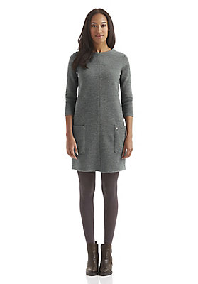 - Jersey-Kleid aus Bio-Schurwolle mit Bio-Baumwolle