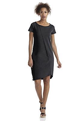 - Jersey-Kleid mit Seide