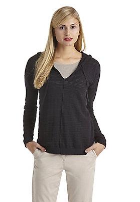 Pullover - Kapuzen-Pullover aus reiner Bio-Baumwolle