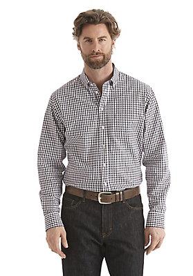 - Kariertes Hemd Comfort Fit aus reiner Bio-Baumwolle